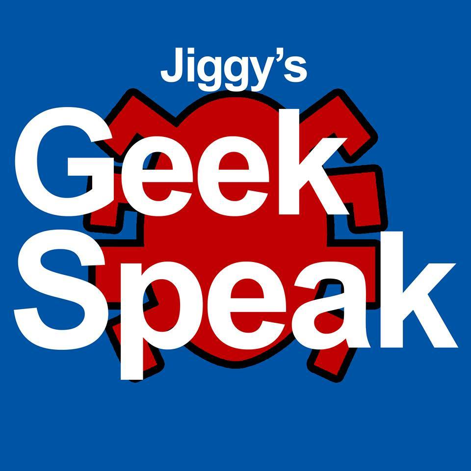 jiggy's geek speak podcast logo
