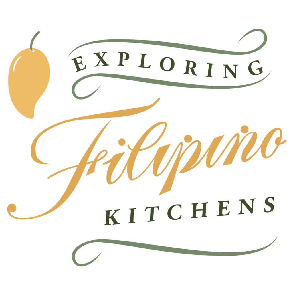 exploring filipino kitchens podcast logo